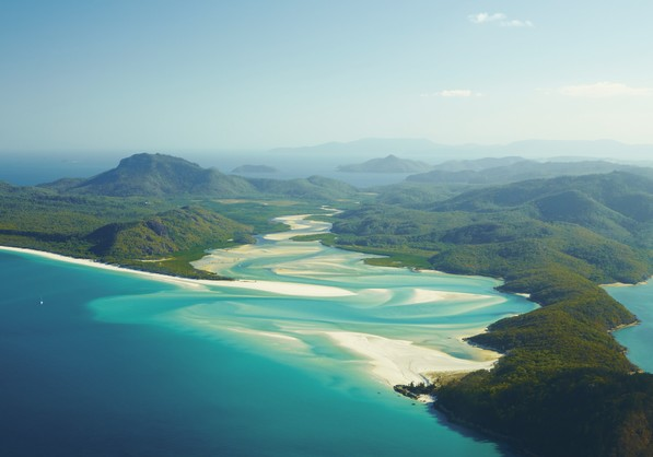 Whitsundays Islands, , Australia. Credit Tourism Australia
