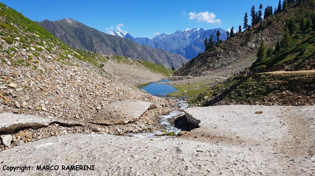 The road leading to Lake Rama, Pakistan. Author and Copyright Marco Ramerini