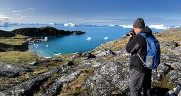 Hiking trails along the Icefjord, Ilulissat, Greenland. Author and Copyright Almo